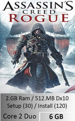 Assassins Creed Rogue  [ 8 GB ]
